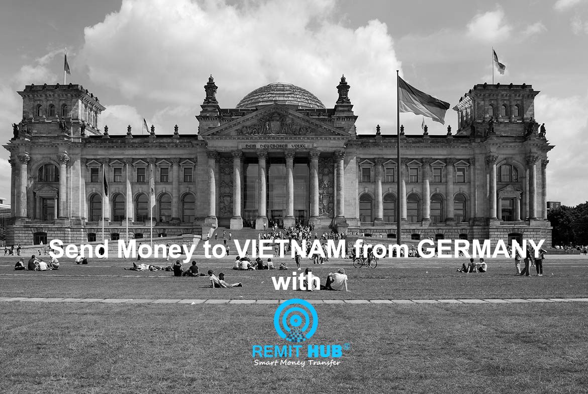 Send money from Germany to Vietnam with Remit Hub